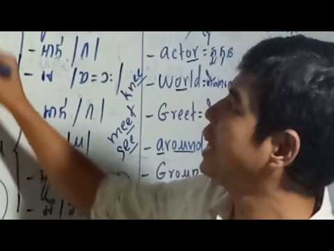 Learning English by Spelling English Word Very Easy