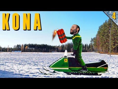 KONA #4 | MOTO DE NIEVE Y DINAMITA | Gameplay Español