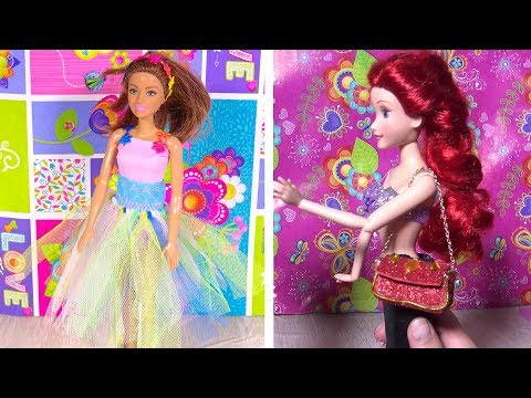 DIY'S Barbie Clothes and Craft Mini Mobile Phone Cases