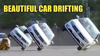 Wow!Cars drifting and very beautiful show in 2018