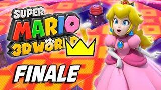 Super Mario 3D World Walkthrough Part 45 - World Crown - Champion's Road & Mystery House Marathon