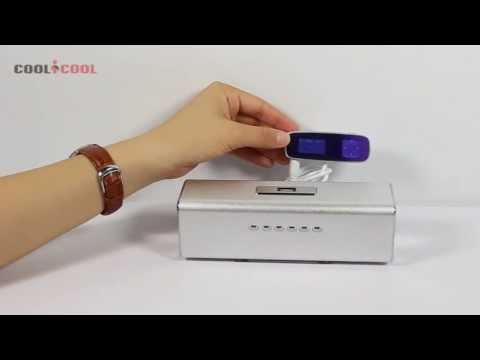 Musical Box Mini PORTABLE SPEAKER for iPhone Samsung MP3 MP4 Memory Stick SD card