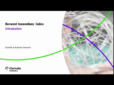Derwent Innovations Index Introduction