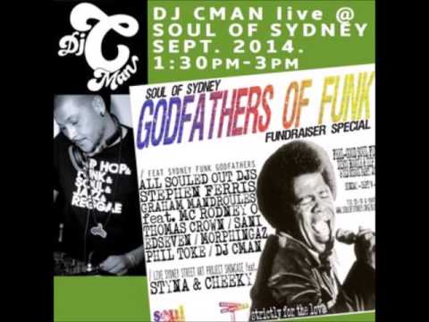 DJ CMAN live @ Soul Of Sydney Opening Set (soul, funk, tropical, african/latin, jazz fusion)