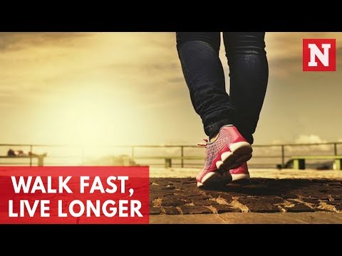 Walk Fast, Live Longer
