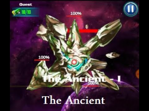 Alien Shooter - Level 164 Boss - The Ancient Easy (Defeated)  