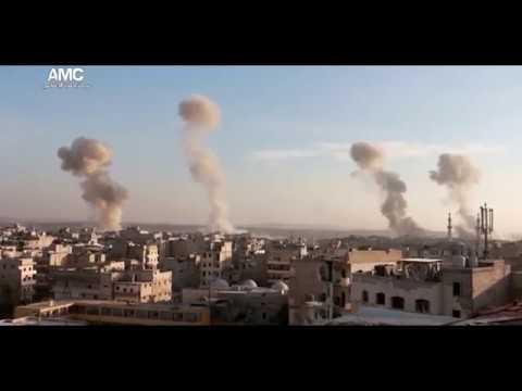4 Parachute Bombs Land On Jihadist Targets In Aleppo