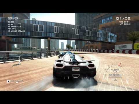 Grid Autosport PC [HD]: Fully Upgraded Koenigsegg Agera R gameplay in Dubai Al Sufuoh Strip