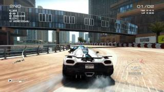 Grid Autosport PC [HD]: Fully Upgraded Koenigsegg Agera R gameplay in Dubai Al Sufuoh Strip