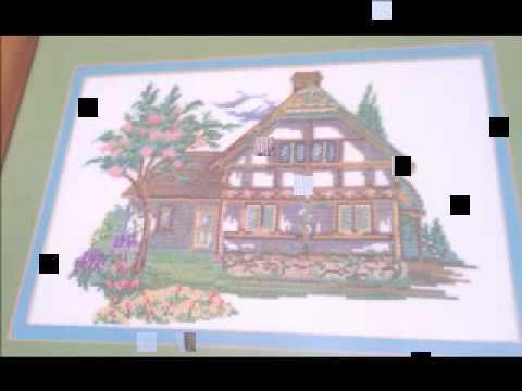 Mis cuadros a punto de cruz youtube - Fotos de cuadros modernos ...