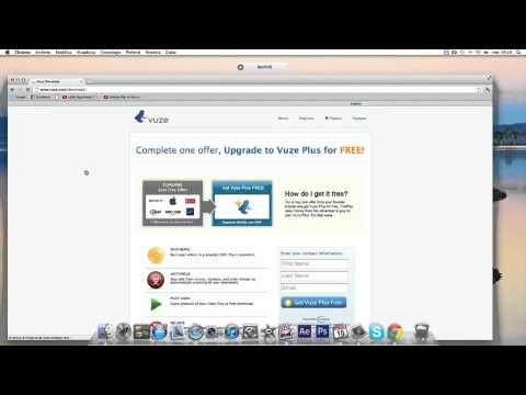 vuze for mac book pro