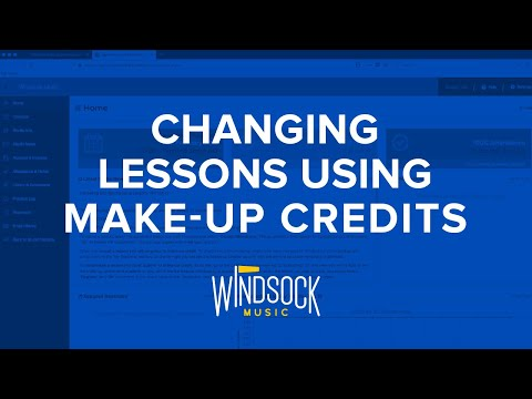 Lesson Scheduling: Make-up credits & the swap list