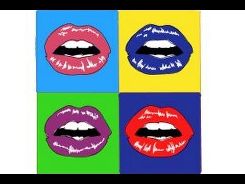 how to draw pop art youtube