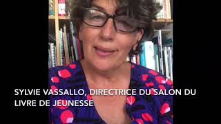 Sylvie Vassallo, Directrice du Salon du livre de jeunesse