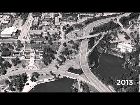 Before-After: Elmwood Ave & Scajaquada, 1940-2013