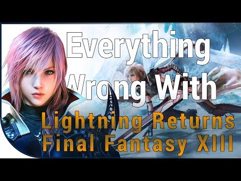 GAME SINS | Everything Wrong With Lightning Returns: Final Fantasy XIII