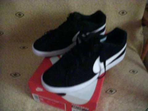 444360cff nike court royale suede - YouTube