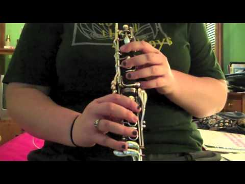 6/2: Harry Potter on the Clarinet!