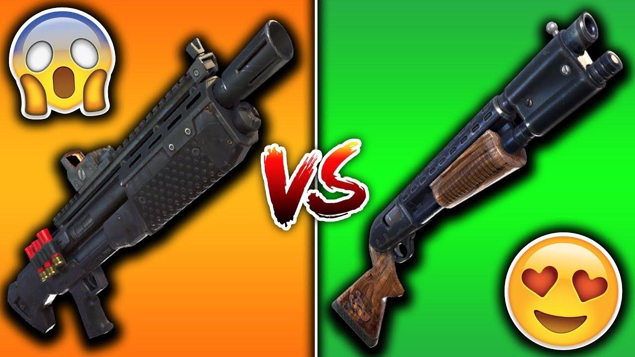 Pump Vs Semi Auto Tactical Shotgun Fortnite Heavy Shotgun Vs Pump Shotgun Is The Heavy Better Than The Pump Shotgun Fortnite Youtube