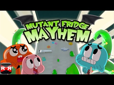 Mutant Fridge Mayhem - Gumball (By Cartoon Network) - iOS Full Gameplay Video