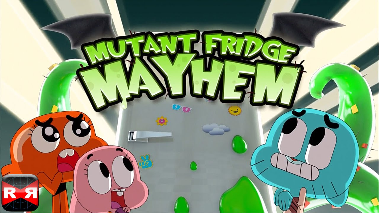 Mutant Fridge Mayhem – Gumball (By Cartoon Network) – iOS Full Gameplay Video