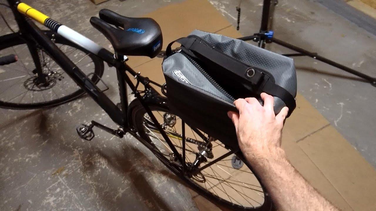 Ortlieb Trunk Bag Initial Thoughts Urban Commuting Bikeblogger