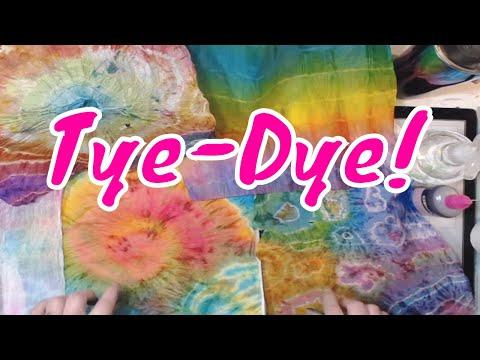 How To Tye Dye Deli Paper - Tutorial - Very Cool!
