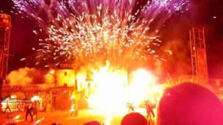 Вселенский карнавал огня 2016  George Michael   Feeling good