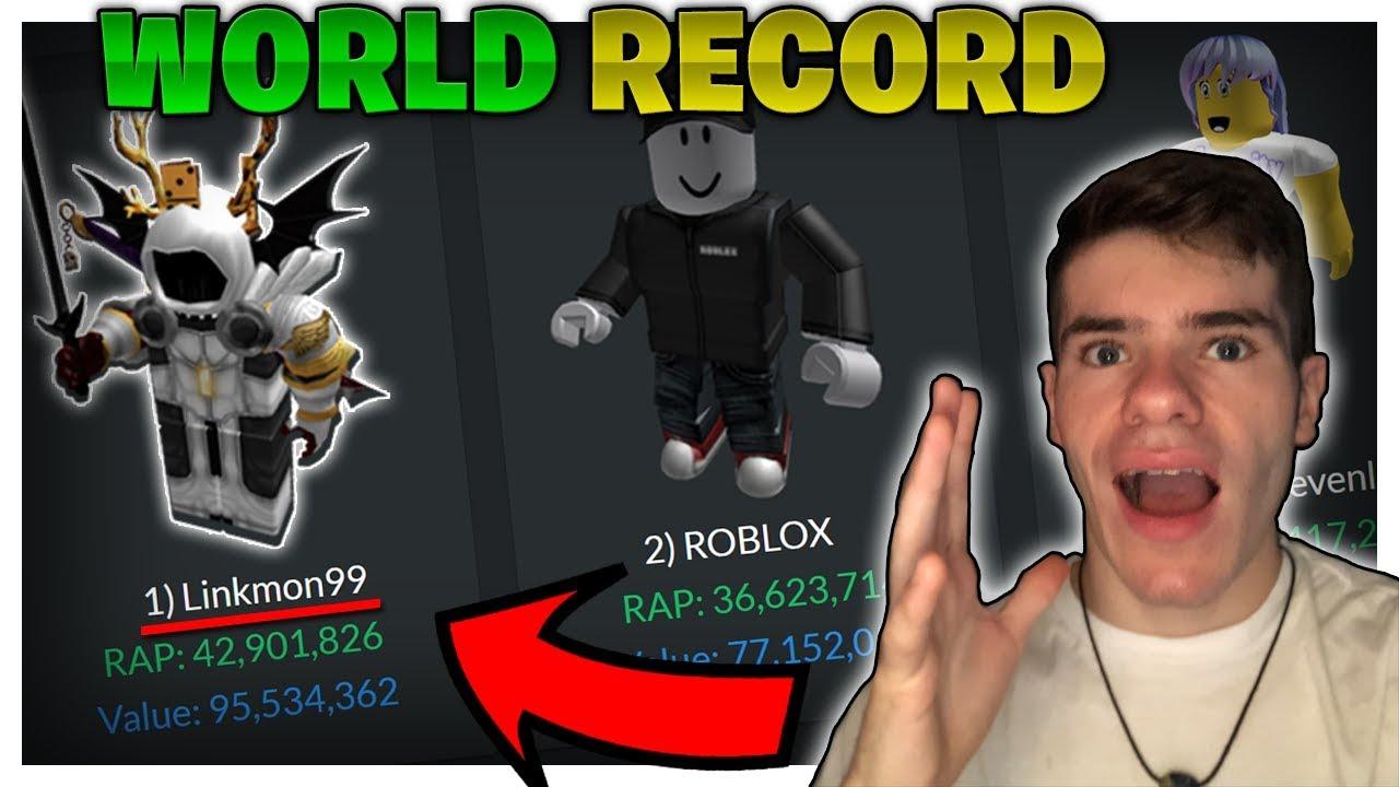 I M Officially Richer Than Roblox World Record Broken