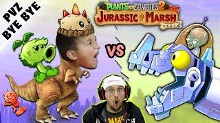 Нет больше ПВЗ 2! Майк против юрского болотный zomboss! zombot dinotronic mechasaur