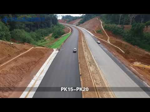 2018 4 23 L'Autoroute Yaounde Douala