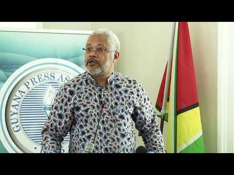 Guyana Press Association's World Press Freedom Day Mid-Day Lecture feat. Afra Raymond