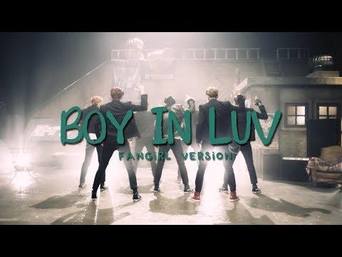 BTS - Boy In Luv Fangirl version