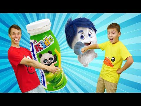 Видео онлайн. Супер Челлендж для героев: победить микробов и пройти полосу препятствий с Имунеле!