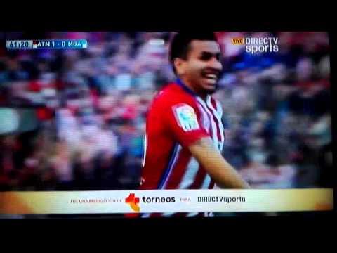 Atletico de madrid 1 vs malaga 0 gol de correa