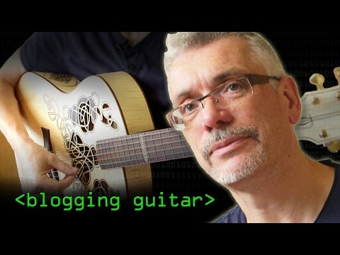 Blogging Guitar - Computerphile