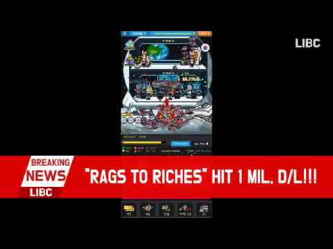 [Rags to Riches : Billionaire Simulator] HIT 1 MILLION DOWNLOAD EVENT! (6s) (ENGLISH)