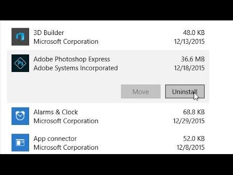 Cách Gỡ Bỏ Một Chương Trình Trong Windows 10