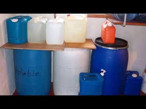 Disaster Preparedness: Water
