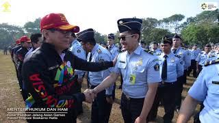 Kemenkumham Kanwil DKI Jakarta Promoting Asian Games 2018