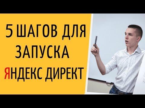 Яндекс Директ. Настройка Яндекс Директ с нуля. 5 шагов для настройки Яндекс Директ ( Поиск и РСЯ )
