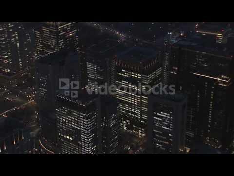 aerial metropolis illuminated night tokyo metropolis city skyscraper japan east ejqrbmqyg