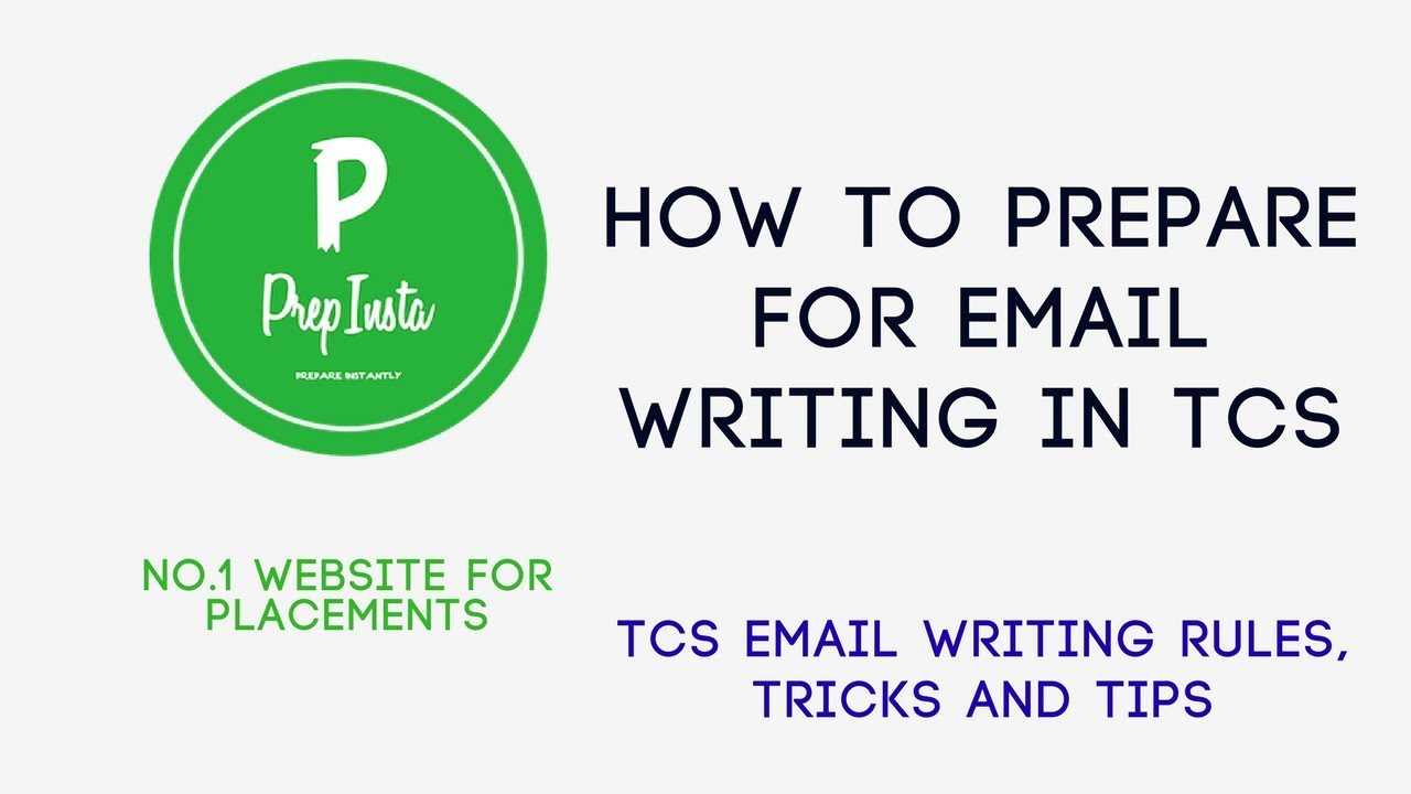 TCS EMAIL Writing Questions in email Section - TCS Round