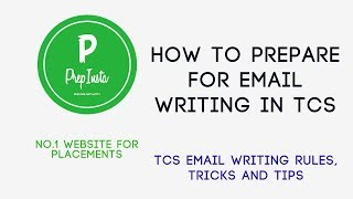 TCS email Writing Section For Online Test Round Tips, Tricks and Rules