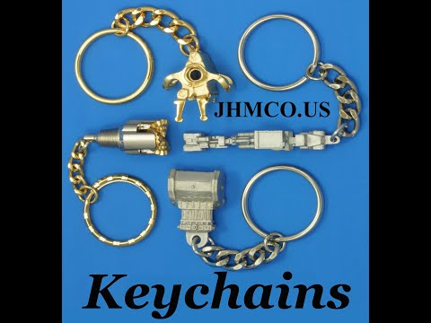 Oilfield Keychains Drillbit Keychains