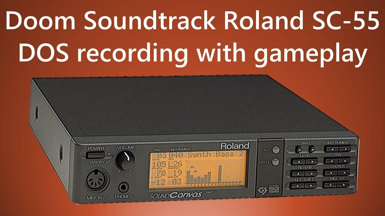 Doom Music Soundtrack Roland SC-55 Sound Canvas