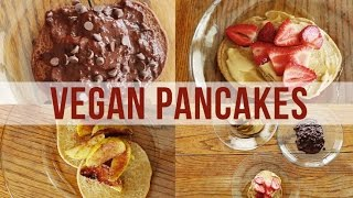 3 Vegan Pancake Recipes