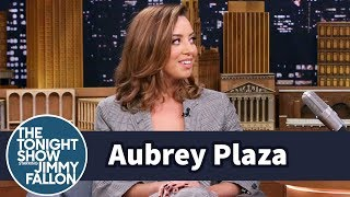 Aubrey Plaza Used to Rent Porn to Her Small-Town Neighbors