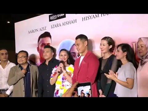 Malam Gala Tayangan Premier filem Kau Yang Satu dibintangi Aaron Aziz, Izara Aishah, Hisyam Hamid