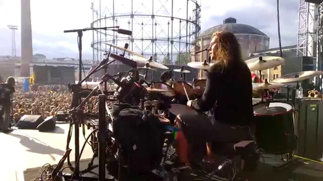 Pearl Artist Jaska Raatikainen Drum Cam Lake Bodom Tuska